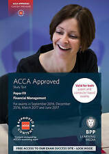 ACCA F9 Financial Management: Study Text by BPP Learning Media (Paperback, 2016)