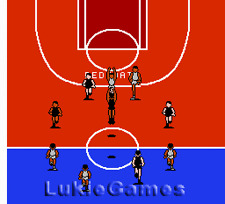All-Pro Basketball - NES Nintendo Game