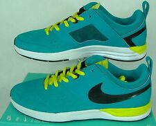 "New Mens 13 NIKE SB ""Project BA"" Turquoise Green White Skateboard Shoes $95"