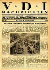 Die ständige Ausstellung für Arbeiterwohlfahrt in Charlottenburg 1922