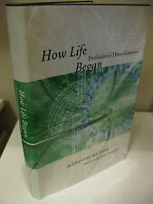 HOW LIFE BEGAN Evolution's Three Geneses Alexandre Meinesz 1st Edition 2008 F/NF