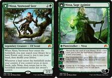 NISSA, VASTWOOD SEER | NISSA, SAGE ANIMIST Magic Origins MTG Green Mythic Rare