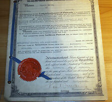 1921 USA patent office, Patent for the production of Aminoalkylesters.
