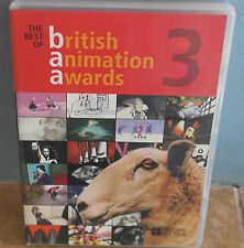 DVD Best of British Animation Awards Vol. 3 Very RARE