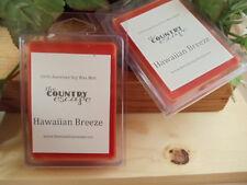 Hawaiian Breeze Scented Soy Wax Clamshell Melt Tart- 2wks of Fragrance