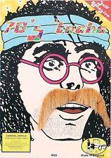1970s 70s Blonde Pimp Hippie Keith Lemon Style Moustache Tash Fancy Dress P1982