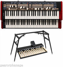 Nord C2D Organ + PK-27 Pedal Keys + ALU Stand BUNDLE  *NEW* PK27 FULL WARRANTY!