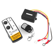 12V 50ft Wireless Remote Control Switch Kit For Jeep/ATV Winch Warn Ramsey Hot