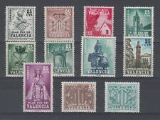 SPAIN - ESPAÑA - COMPLETE MNH VALENCIA COLLECTION (11 STAMPS)