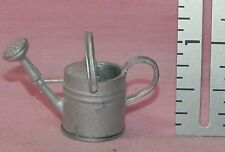 Dollhouse Miniature Watering Can Silvertone Minis 1:12 Scale