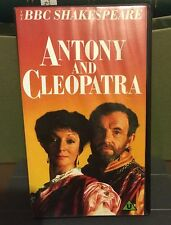 BBC SHAKESPEARE - Antony and Cleopatra, VHS PAL, Colin Blakely & Jane Lapotaire
