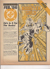 DC Relseases. First Appearance of Booster Gold!