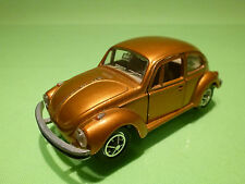 GAMA MINI 898 VW VOLKSWAGEN KAFER 1302 1:43 - COPPER GOLD - GOOD CONDITION