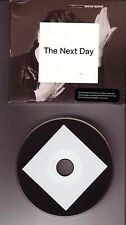 "DAVID BOWIE ""The Next Day"" 14 Track PROMO CD ONLY"