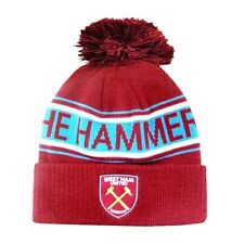 new official WESTHAM FOOTBALL CLUB HAT The Hammers The Irons Premier League whfc