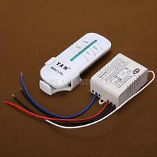 Wireless 220V-240 ON/OFF Lamp 1 Ways Remote Control Switch Receiver Transmitter