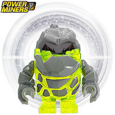 LEGO Power Miner Minifigures - Rock Monster Sulfurix ( Trans-Neon Green , 8959 )