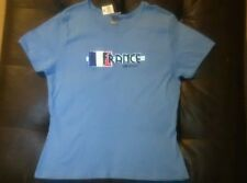 New! Vintage Disney World France Epcot Women's XL Shirt French Flag NWT