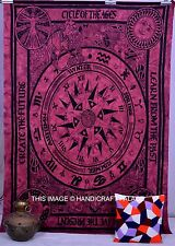 Indian Zodiac Astrology Tapestry Horoscope Wall Hanging Hippie Bedspread Decor