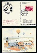 62063) Ballonpost FDA Dolder Niederlande Hengelo 16.6.57 in die Schweiz
