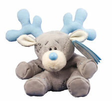 "Me To You 4"" Blue Nose Friends Collectors Plush - Jingle The Reindeer # 18"