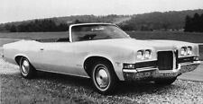 1971 Pontiac Catalina Convertible Factory Photo J7709