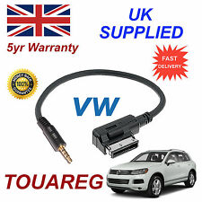 Genuine VW TOUAREG MMI 000051446D 3.5mm jack MP3 iPod in car Cable replacement