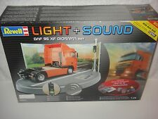 REVELL 9031 DAF 95 XF DIORAMA SET 1/24 LIGHT & SOUND SKILL 5