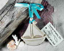 TOY SAILBOAT  SAND ORNAMENT BEACH TROPICAL NAUTICAL