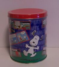 Snoopy Puzzle Tin Comic Strip Peanuts Flying Ace Beagle Scout Charlie Lucy