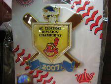 Cleveland Indians Pin - 2007 A.L Central Division Champs