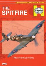 The Spitfire Deconstructing Design Icons (New DVD) Aircraft Aviation Planes