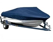 Waterproof 210D Heavy Duty Boat Cover 17 - 19 ft Fishing Ski Speedboat