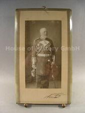 Top foto: Großadmiral Hans von Koester, con condición original firma, medallas, 4423