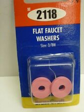 """Brass Craft FLAT FAUCET WASHERS, TRADE SIZE: 3/8M, O.D. 21/32"""", PINK, SC2118"""