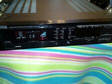KENWOOD STEREO INTERGRATED AMP AMPLIFIER BLACK A-7X  working