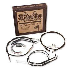 Burly Brand Extended Cable/Brake Line Kit for 13in. Ape Handlebars B30-1048