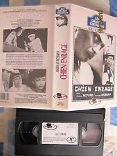Chien Enrage Vost de Akira Kurosawa, VHS Fil à Film, Action, RARE!!!