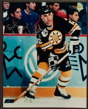ADAM OATES SIGNED 8x10 PHOTO BOSTON BRUINS RED WINGS BLUES CAPS FLYERS DUCKS +