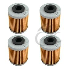 4 x Oil Filter For KTM Motorcycle 250 400 450 520 525 690 625 660 New