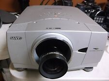 SANYO PLC-XP46  PROJECTOR (EIKI LC-X1100), SHORT  LENS, NEW LAMP GOOD CONDITION