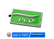 LPG Auto Gas ECO Metal Chrome Badge Emblem Logo Sticker