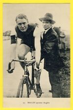 cpa CYCLISME Ed. ARGENTEUIL Le SPRINTER ANGLAIS William BAILEY Coureur Cycliste