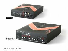 S-Video/Composite/2x HDMI input to HDMI scaler AT-HD580