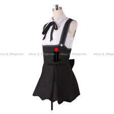 VOCALOID Hatsune Miku Project DIVA Gothic Black and White COS Cosplay Costume