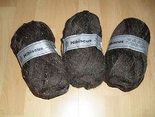 300 gr Strickwolle  3 x 100 gr  braun