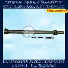 1997-2004 Chevrolet S10-GMC Sonoma Pickup RWD Rear Driveshaft replacements