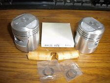 NOS Honda CD125 CL125A SS125A 1.00 Complete Piston Kit Set Rings Pin Clips