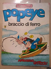 FUMETTO POPEYE BRACCIO DI FERRO MARINAIO OFFRESI 1980