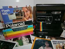 Probado Retro Diversión hoy Polaroid Onestep 600 Arco Iris con flashcubes